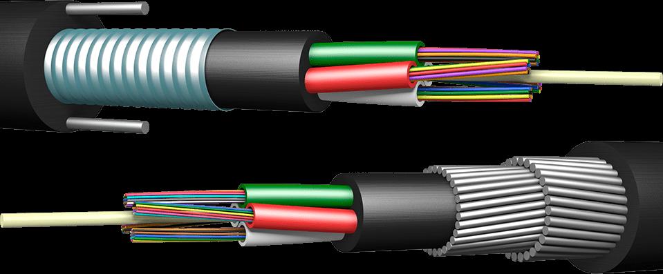 Отличия в типах бронированных оптических кабелей